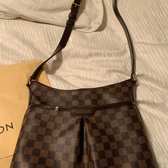 147eec4f00 LouisVuitton Bloomsbury Damier Ebene CrossBody Bag
